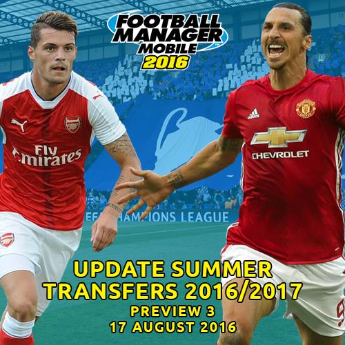 Screenshot for Unofficial Update Summer Transfers 2016/17 (17 Aug)