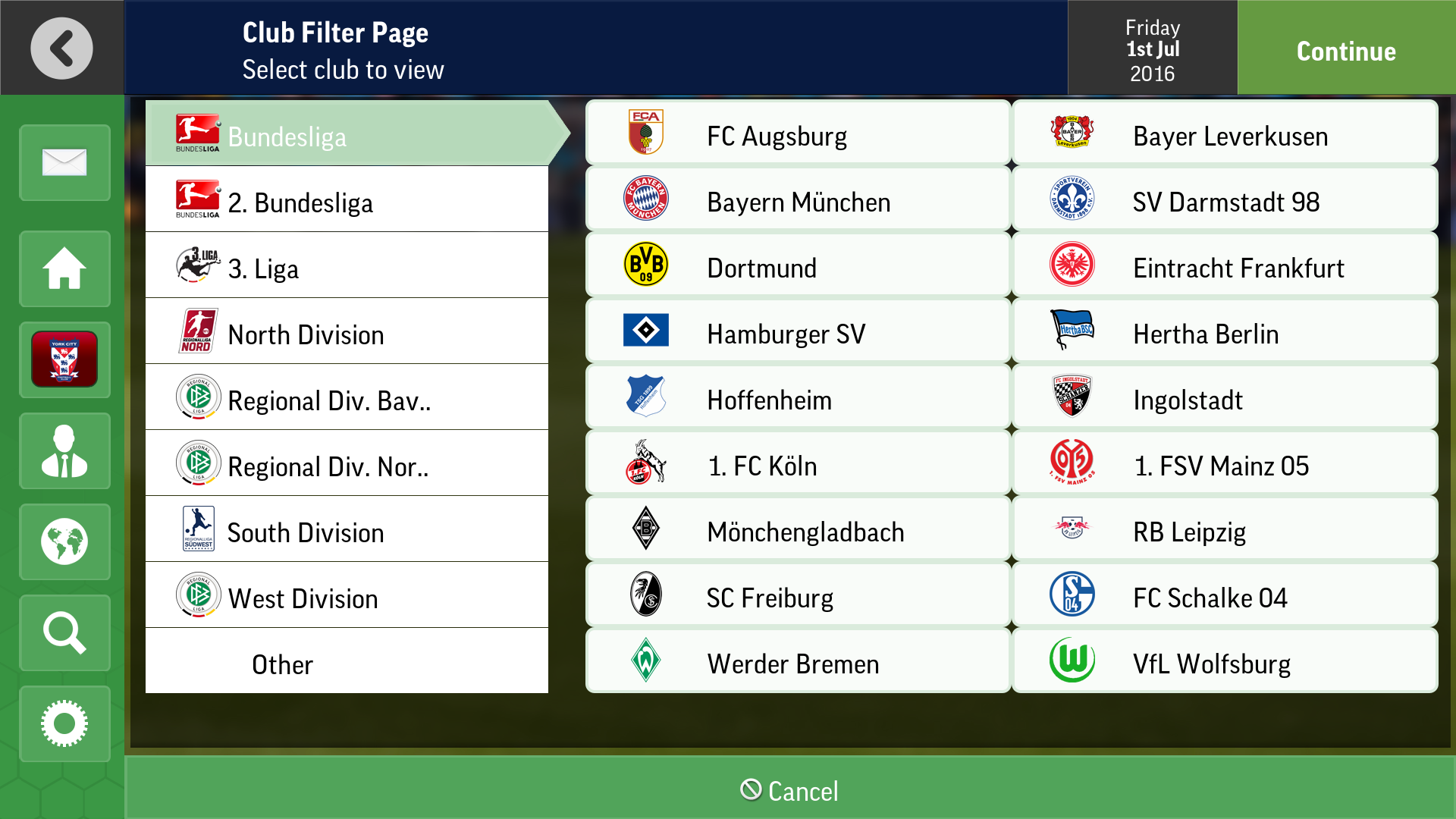 Football manager mobile 2017 real name fix apk   Football Manager