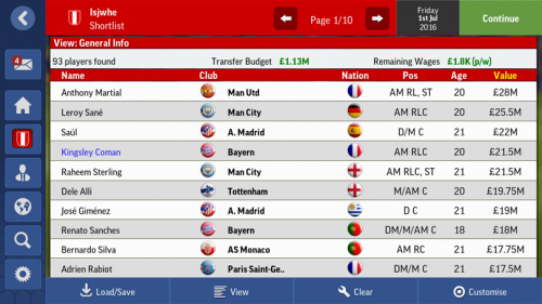 Screenshot for [EME]The best wonderkids in FMM17