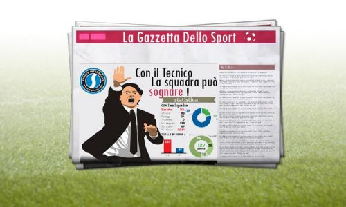 Screenshot for Amazing Graphical News with La Gazzetta newspaper
