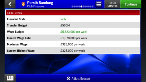 Screenshot for Club Editor FMH 2015