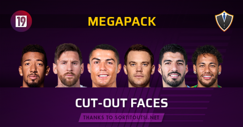 Standard Cut-Out Faces Megapack