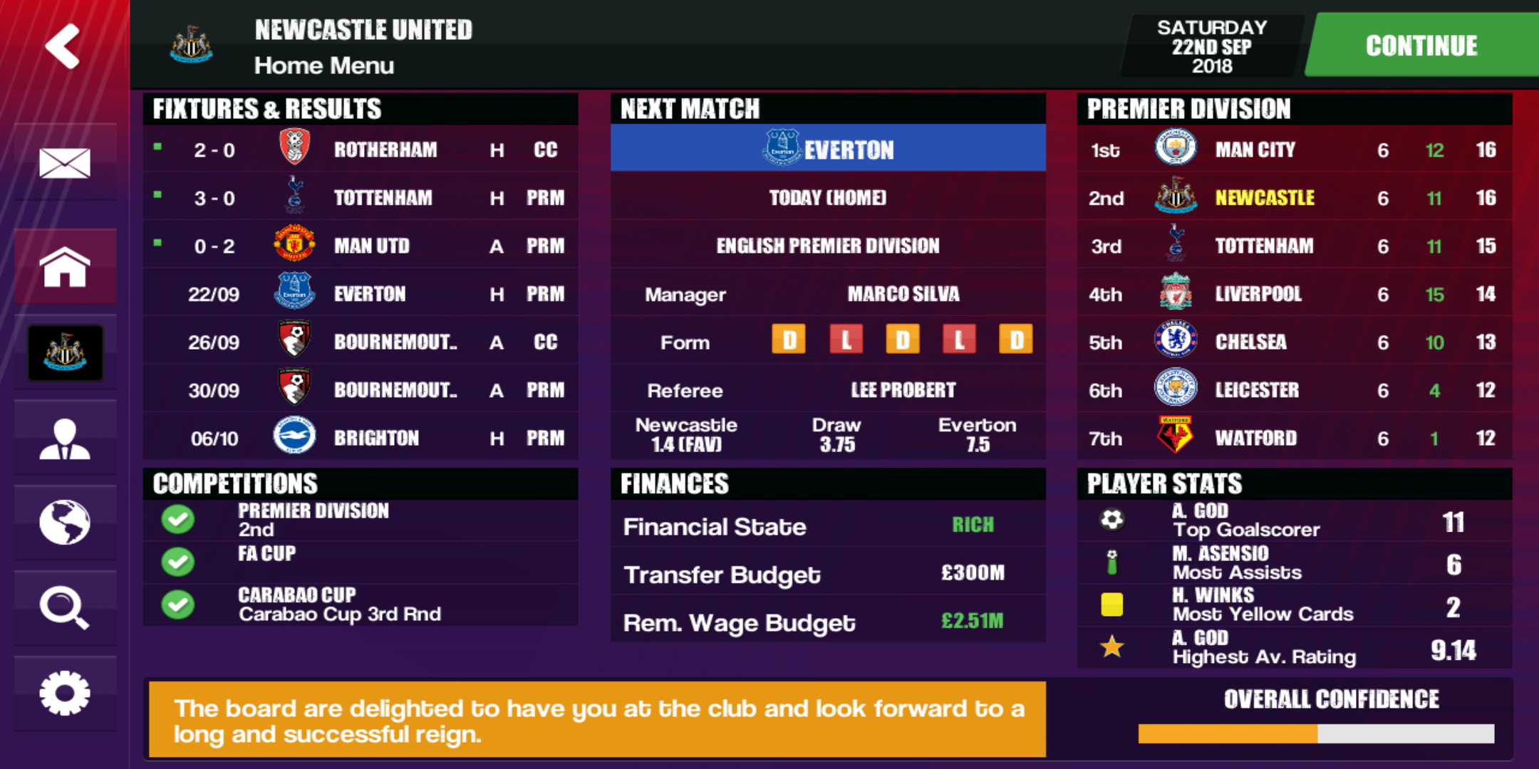 KD23 Fonts - Football Manager 2019 Mobile - FMM Vibe