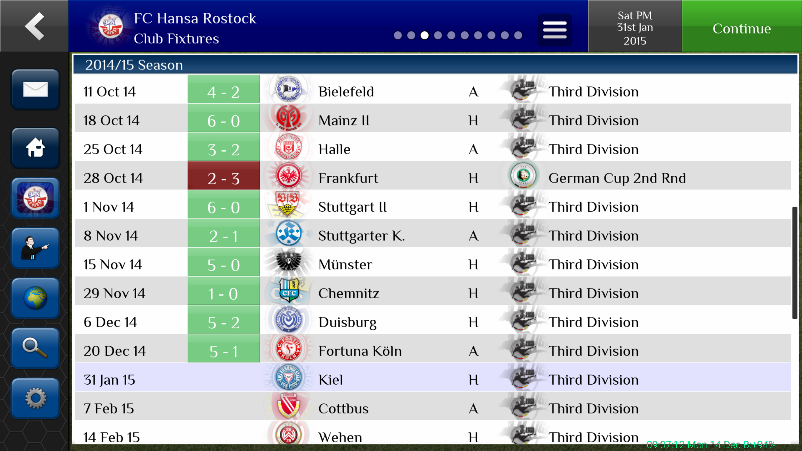Dissymmetrical 4-3-1-2* for FMH 15 - Series & Older Games ...