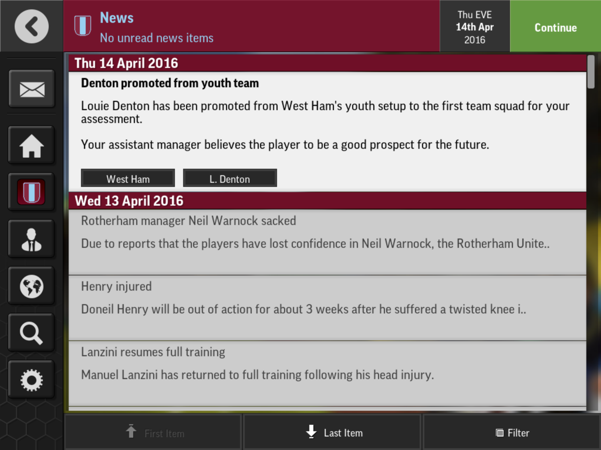 Is This A Regen Or Just A Bug Football Manager Mobile 2016