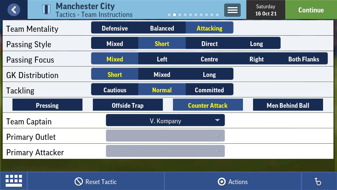 Help Tweak A 3223 Tactic [eme] - Football Manager Mobile