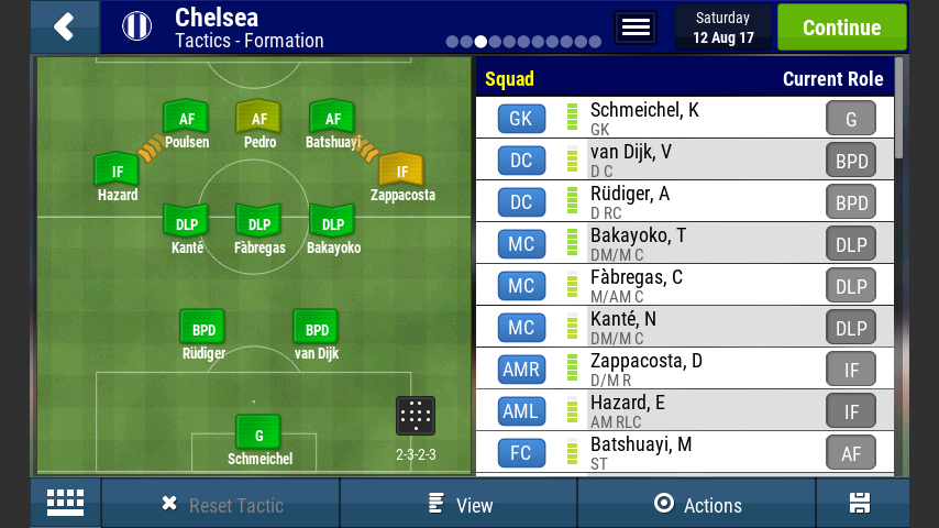 Best Formation Football Manager 2019 BEST OFFENSIVE TACTICS   Football Manager Mobile 2018   FMM Vibe