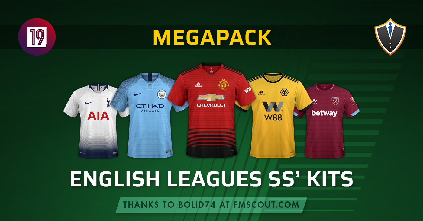 SS'Kits English Leagues Pack