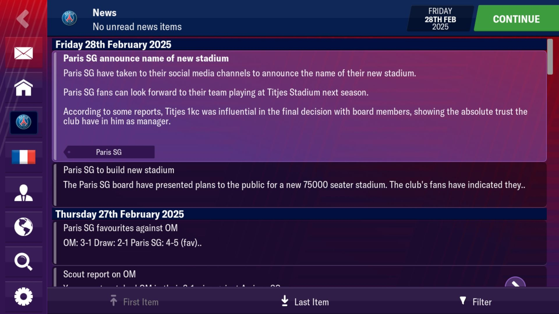 The New Stadium Challenge - Football Manager 2019 Mobile