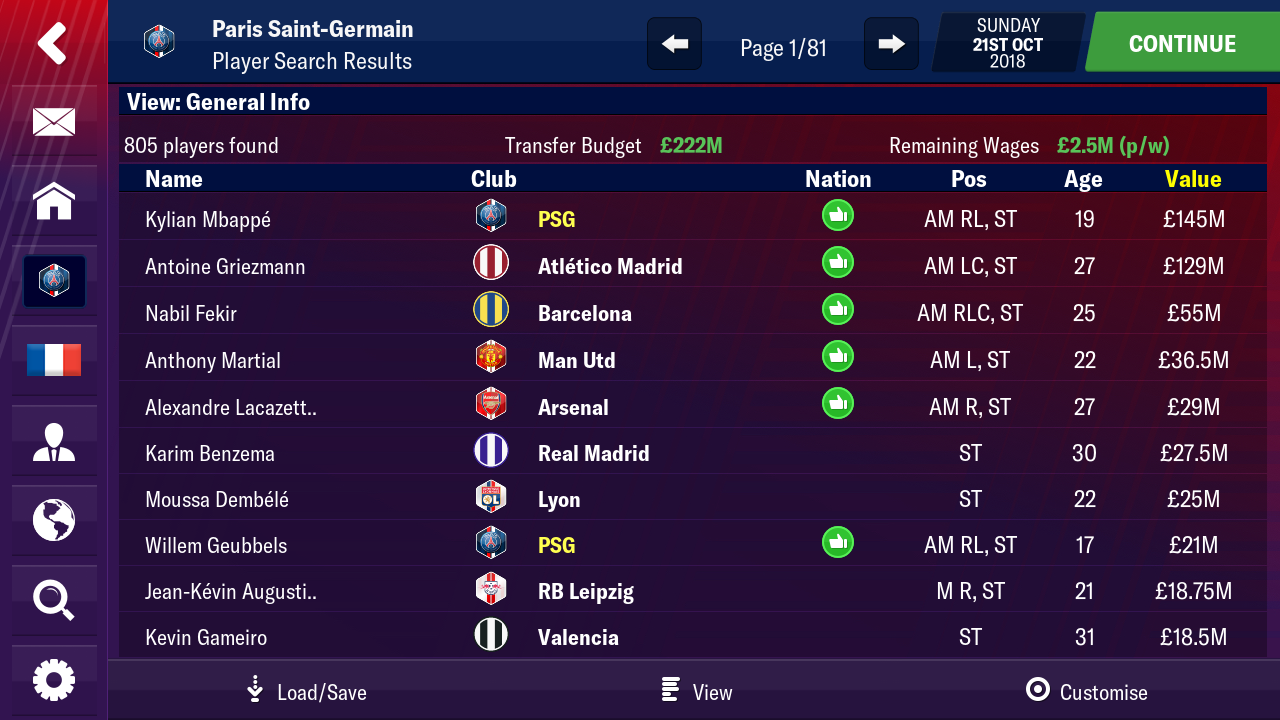FMM19 Bug List - Page 33 - Football Manager 2019 Mobile
