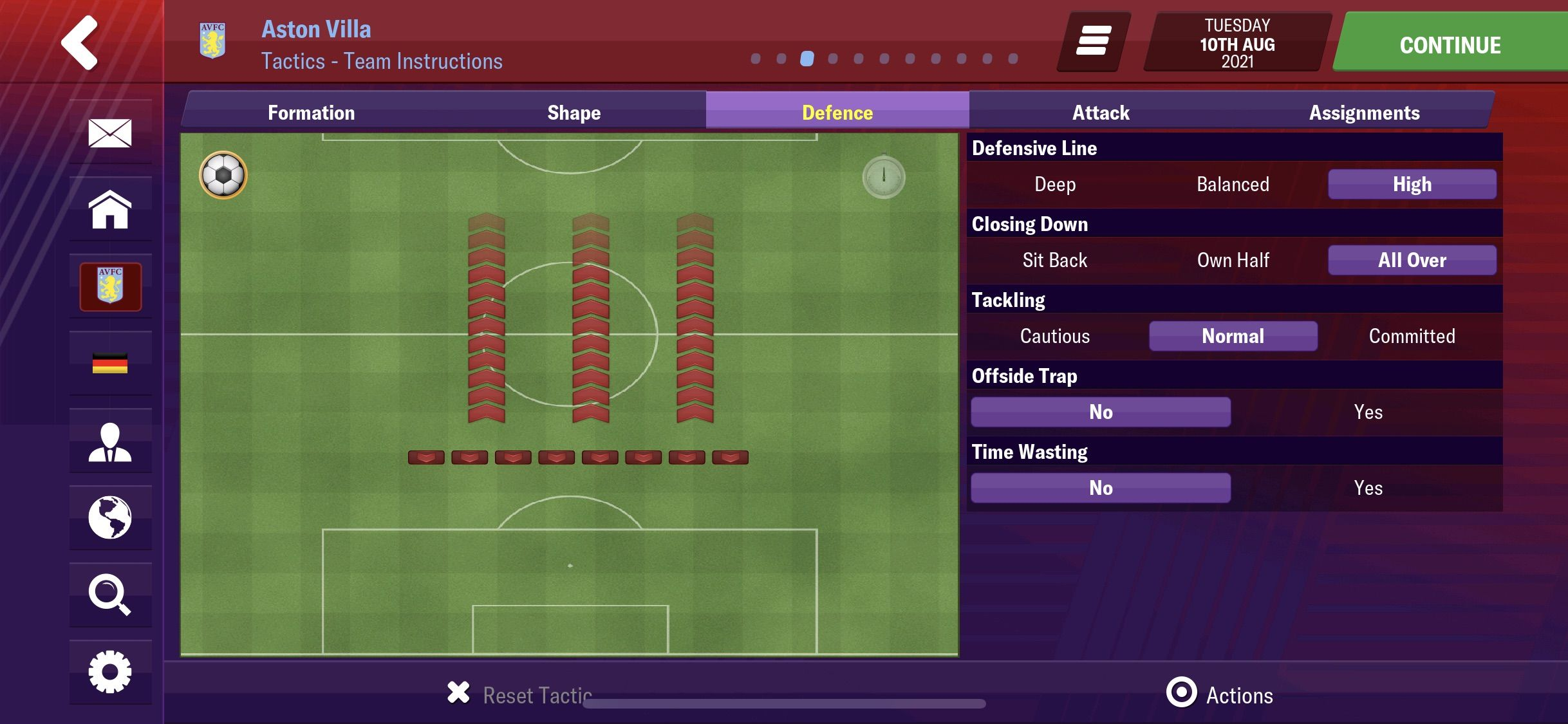 Best Tactic Ever - Football Manager 2019 Mobile - FMM Vibe