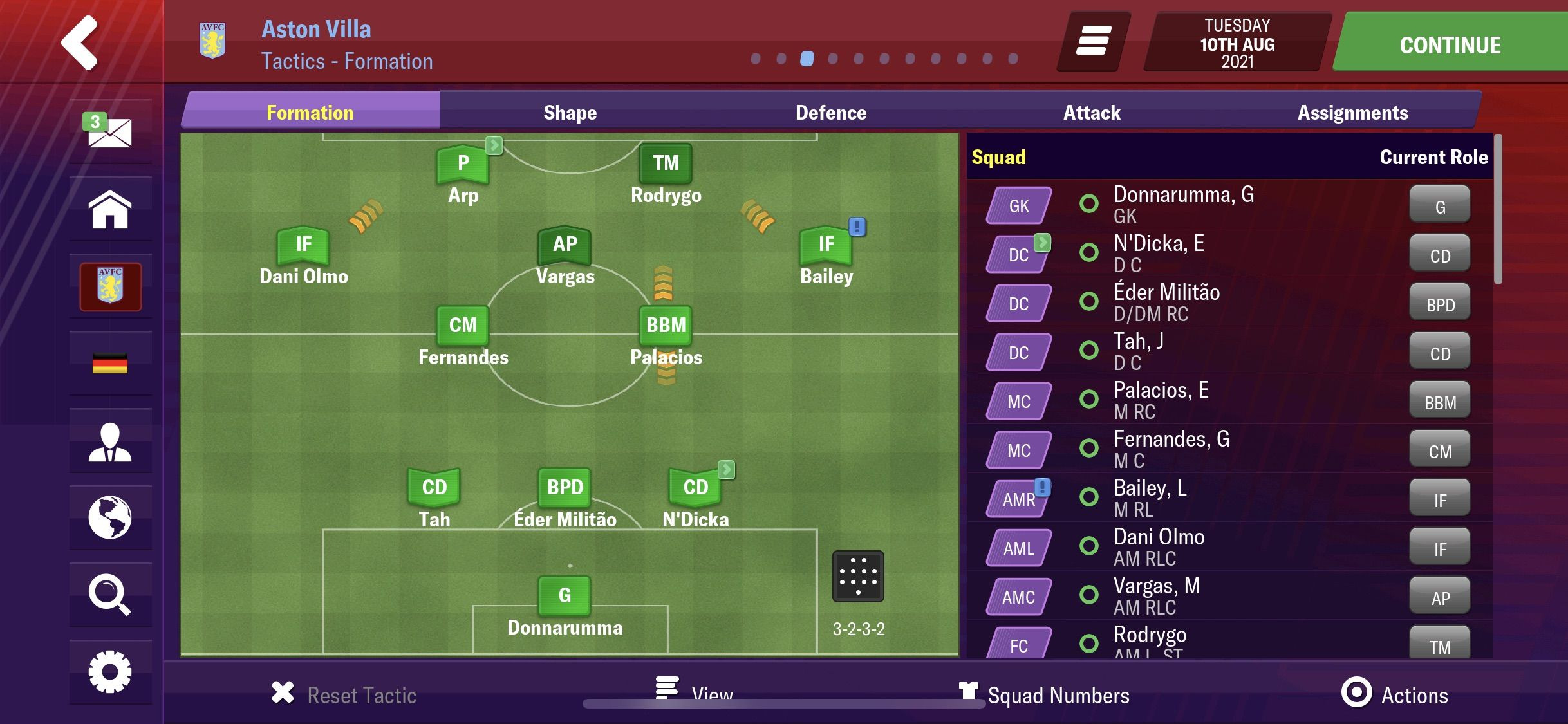 Best Formation Football Manager 2019 Best Tactic Ever   Football Manager 2019 Mobile   FMM Vibe