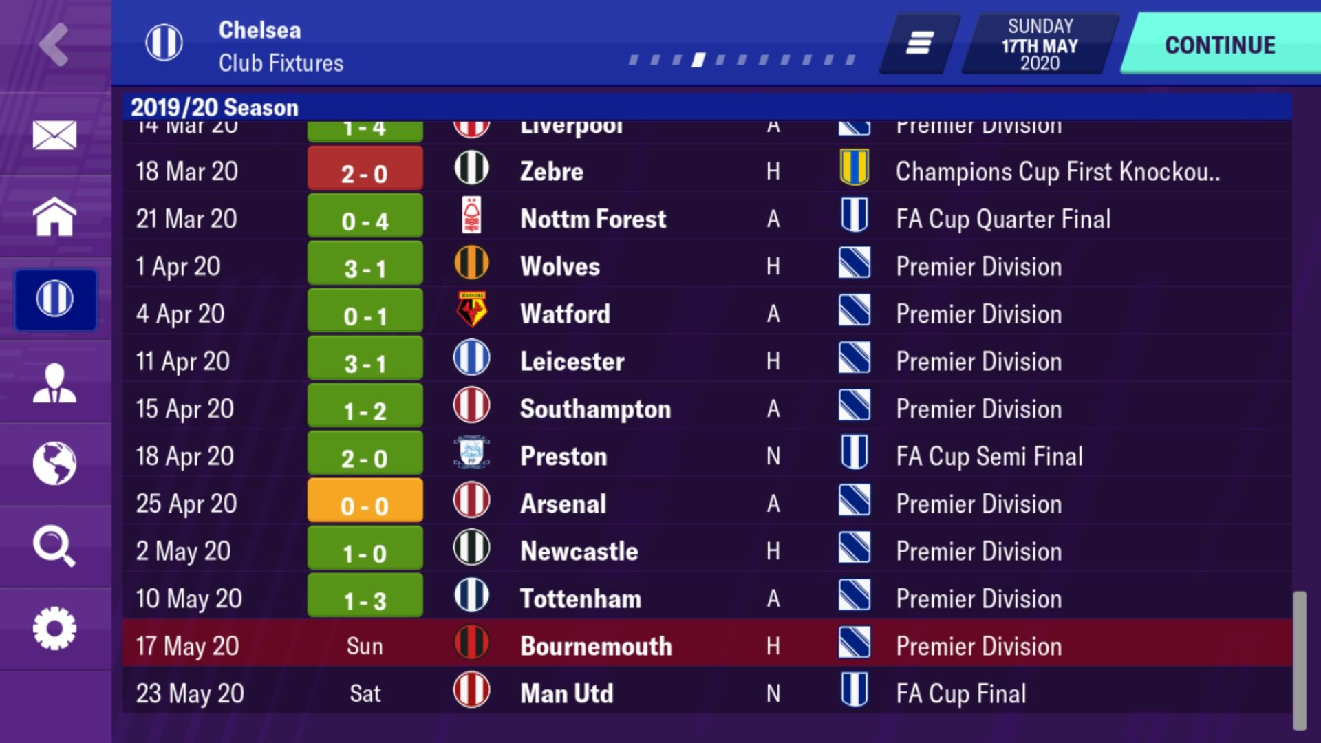 4 4 1 1 Great Tactic Football Manager 2020 Mobile Fmm Vibe